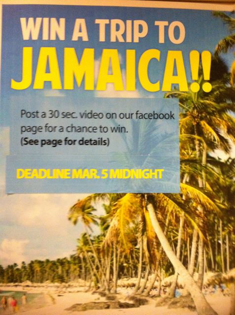 Enter the Completion Project Video Project by March 5 Midnight! Win a Trip to Jamaica!